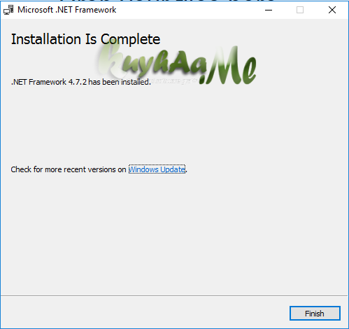 Microsoft .NET Framework 4.7 Final