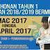 Permohonan Murid Tahun Satu (1) bagi Seluruh Negeri Semenanjung Malaysia Ambilan Tahun 2018 - 2019