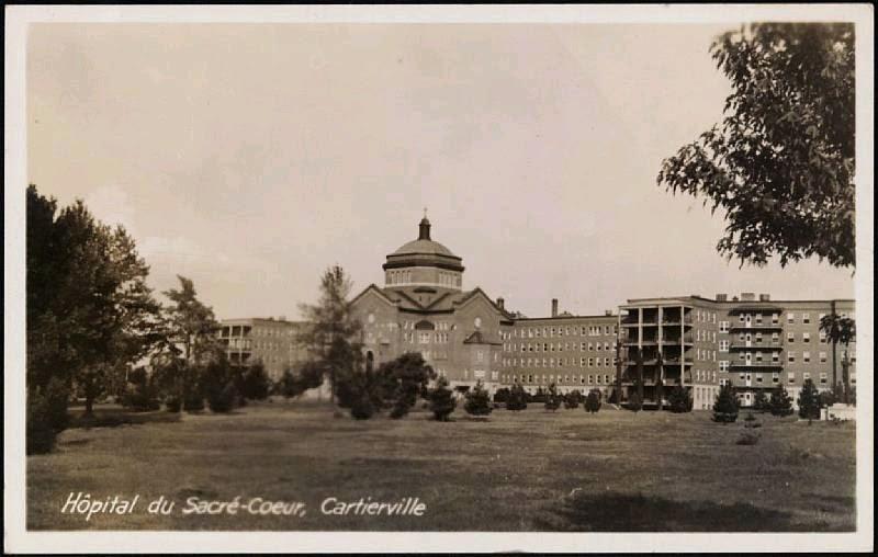 Montral je me souviens  Hpital du SacrCoeur