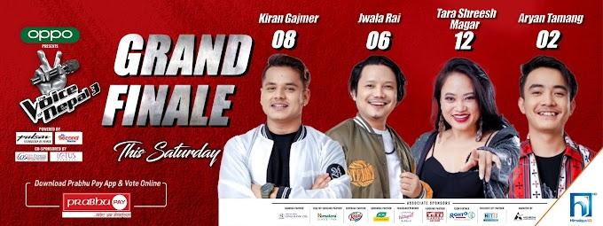 The Voice of Nepal season 3 finale