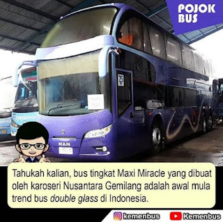 Bus Double Glass Maxi Miracle