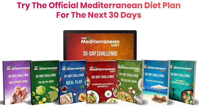 The Mediterranean Diet Plan reviews, The Mediterranean Diet 30-Day Challenge PDF BOOK program DOWNLOAD