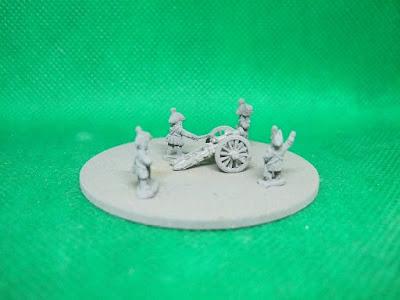 7 pdr Howitzer + 4 Crew