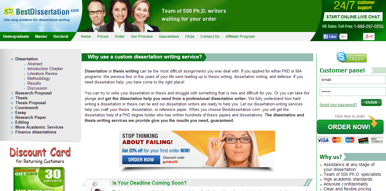 BestDissertation.com Dissertation Writing Service Picture