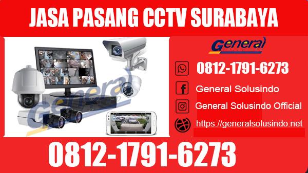 Jasa Pasang CCTV Surabaya Selatan