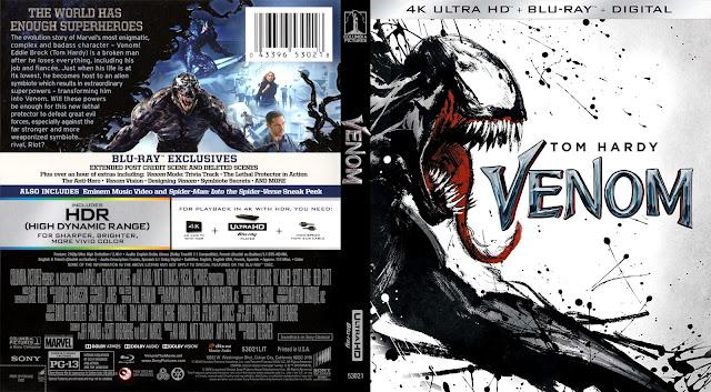 Venom Bluray Cover