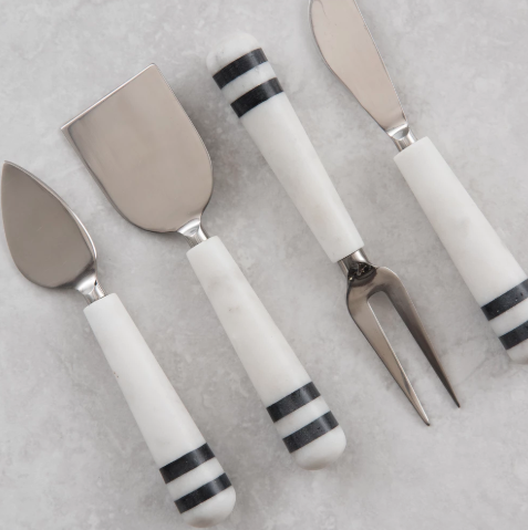 Marble Cheese Set