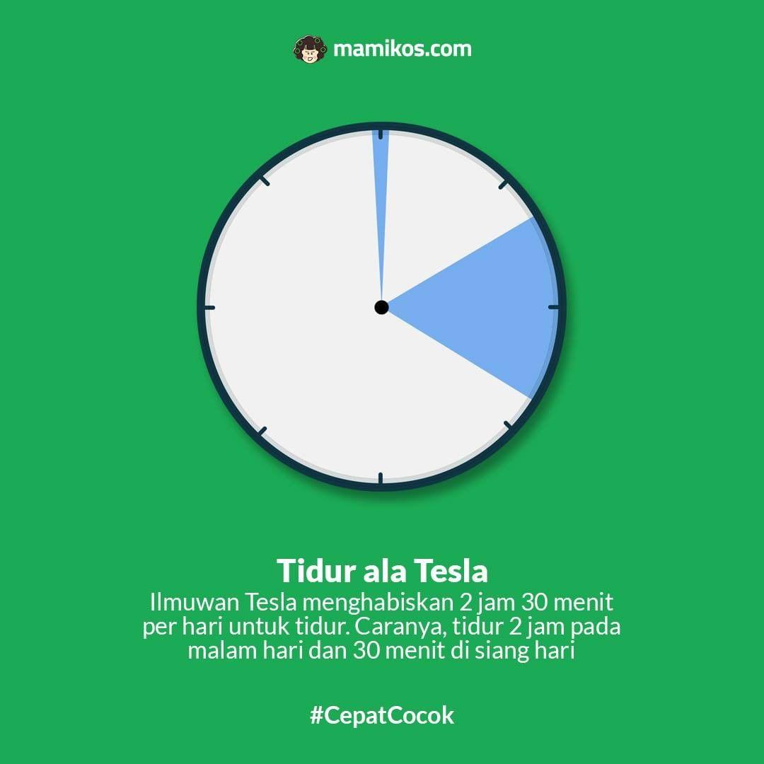 Tidur ala Tesla