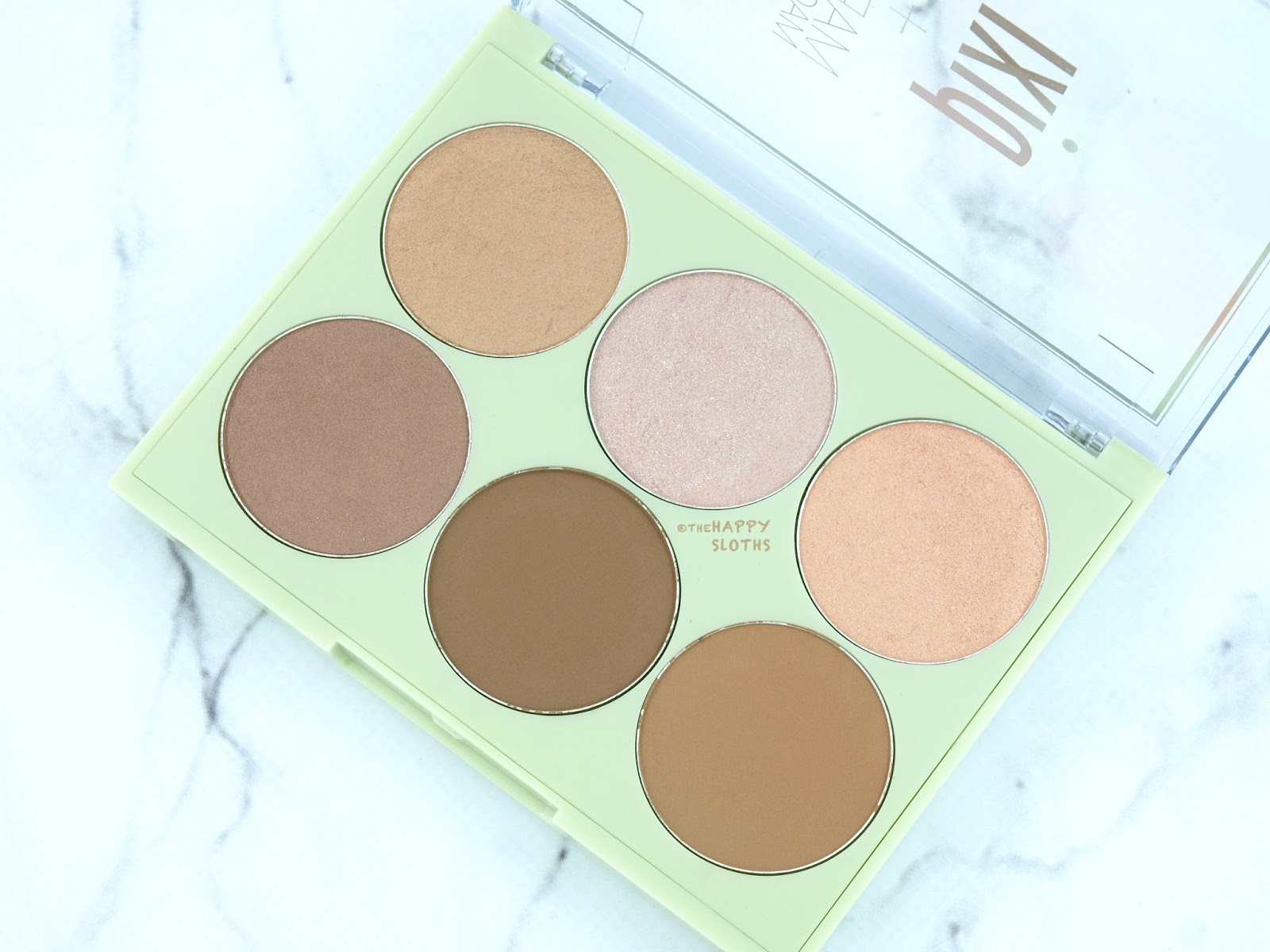 Pixi + Maryam Maquillage Strobe & Bronze Palettes: Review and Swatches