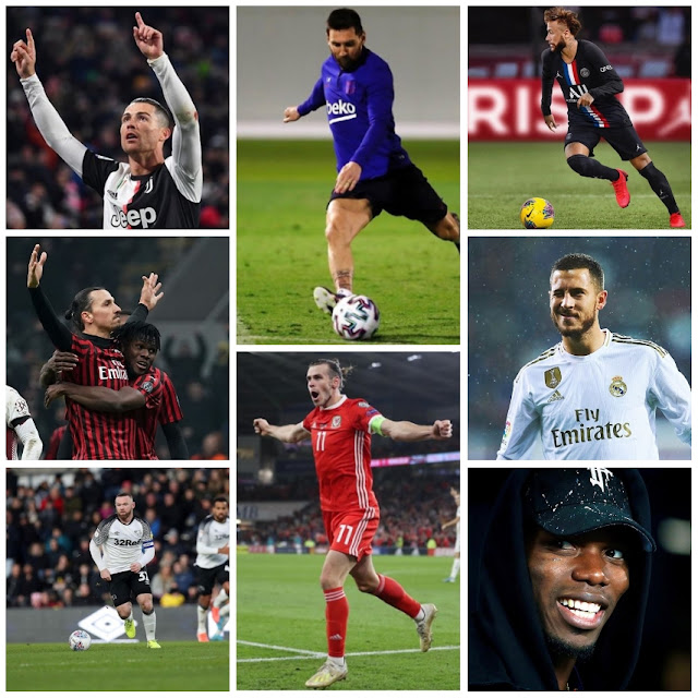 The richest football players in the world in 2020