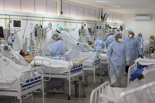 Covid-19 2ª Onda: Leitos de UTI em hospital referência para tratamento contra Covid-19 no AM têm 98% de ocupação.