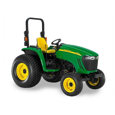 JOHN DEERE 4120 4320 4520 4720 COMPACT UTILITY TRACTOR WITH