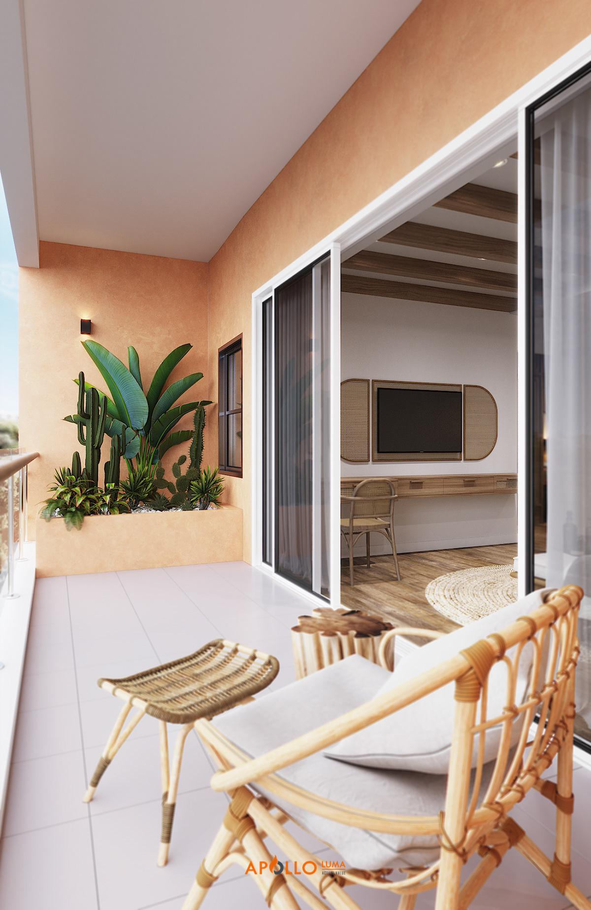 Phong cách nội thất Tropical (Nhiệt đới)