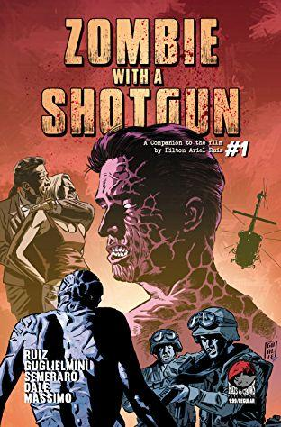 Zombie With a Shotgun, cover fumetto
