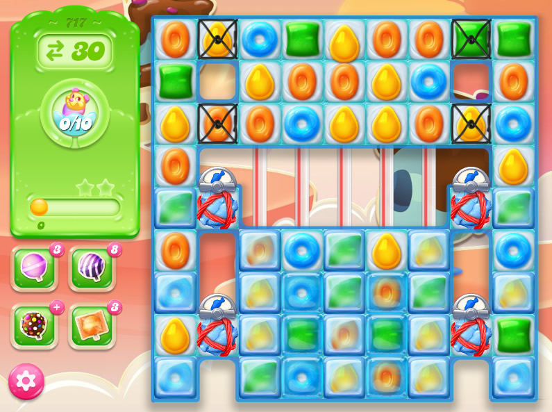 Candy Crush Jelly Saga level 717
