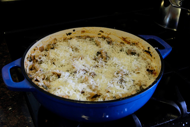 Cheesy-Beef-and-Spinach-Pasta-Bake