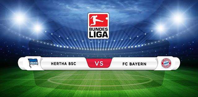 Hertha Berlin vs Bayern Munich Prediction & Match Preview