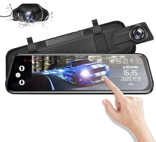 AZDOME AZDOME Upgrade Touch Screen Mirror Dash Cam