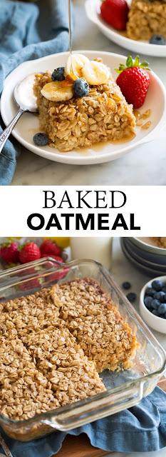 Baked Oatmeal Breakfast