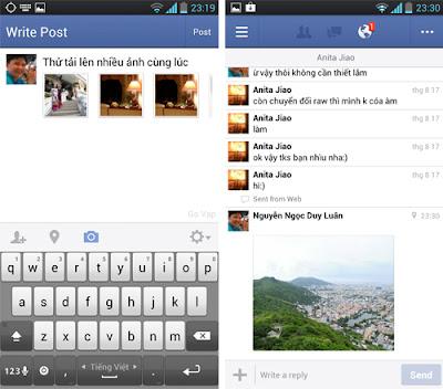Tải ứng dụng facebook miễn phí cho điện thoại