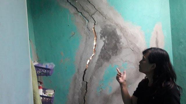 Gunung di Cimahi Dibom untuk Proyek Kereta Cepat, Ratusan Rumah Warga Retak Dindingnya
