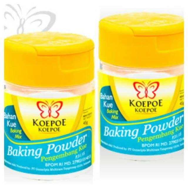 Baking Powder (DOUBLE ? AKTING )
