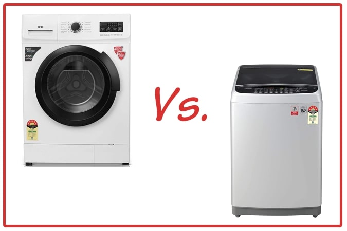 IFB Neo Diva BX (left) and LG T80SJSF1Z (right) Washing Machines.