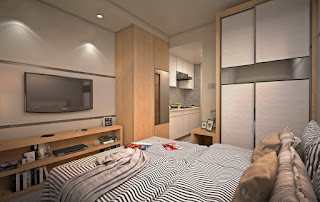Tipe 1 BR Apartemen B Residence BSD City 3 Menit ke Mall AEON www.rumah-hook.com