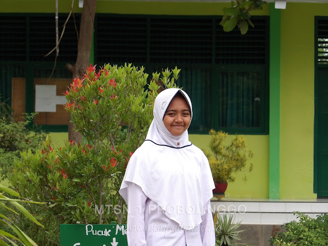 Biodata Sundus Bahiroh Basya, Ketua OSIS 2017/2018 MTsN 1 Probolinggo di Nurul Jadid