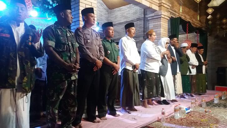 Dandim Jepara Hadiri Isra' Mi'raj dan Haflah Akhirussanah Ponpes At-Taqy oleh KH Said Aqil Siradj