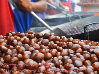 Castañas, Castanas, Roasted Chestnuts