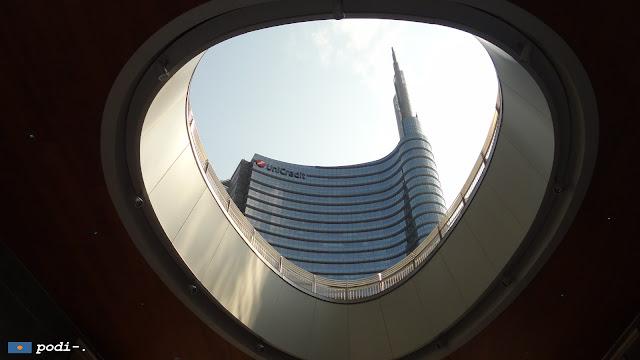 Milano, Porta Nuova Garibaldi, progetto di César Pelli