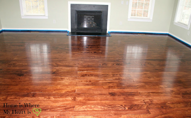 plywood hardwood floors