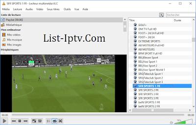 IPTV Sport Playlist free Serveur M3u links Chaînes