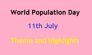 World Population Day 2021: Theme, Date and Major Highlights