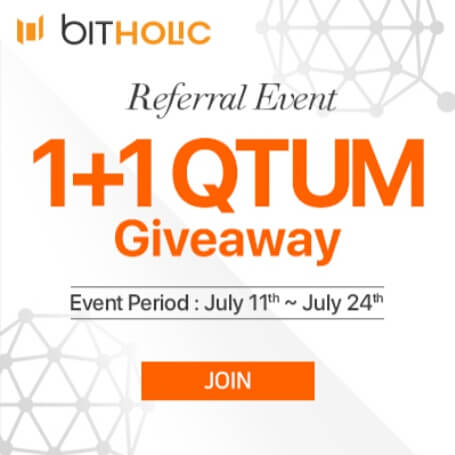 Diartikel kesembilan puluh empat, Saya akan memberikan Tutorial Cara bermain di situs exchanger Bitholic hingga mendapatkan Koin QTUM secara gratis.