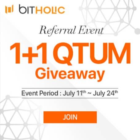 Cara mendapatkan QUANTUM (QTUM) dari situs Bitholic.com