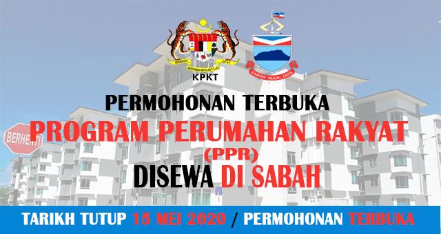Permohonan Program Perumahan Rakyat Ppr Di Sabah 2020 Jawatan Kosong Sabah
