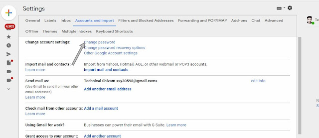 Gmail Ka Password Kaise Change Kare? – जीमेल का पासवर्ड भूल जाने पर रिकवर करने का तरीका!