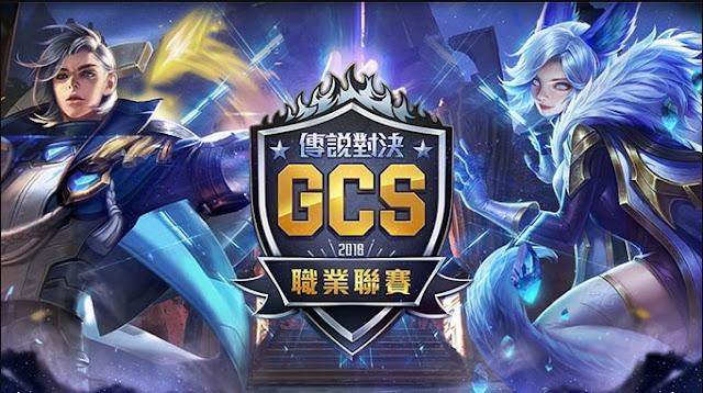 Bảng Xếp Hạng GCS 2018 mùa hè Đài Loan liên quân mobile mới nhất