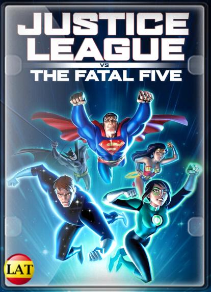 Liga de la Justicia: Los Cinco Fatales (2019) DVDRIP LATINO