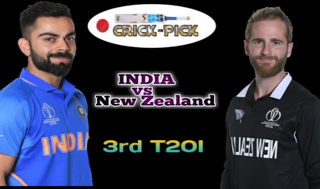 New Zealand vs India 3rd T20 Match Prediction 2020 - Today Match Prediction