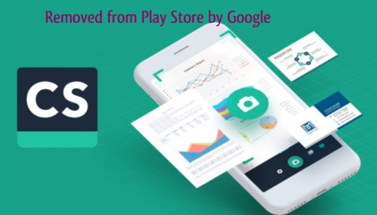 Famous CamScanner Remove from Play Store by Google Due to Fake Advertisement Scam Malware detection