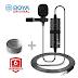 BOYA BY-M1 Microphone সেরা ক্লিপ মাইক্রোফোন পিসি + ডিএসএলআর + স্মার্টফোন এবং ইউটিউবের জন্য ।