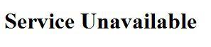 IRCTC :: Service Unavailable