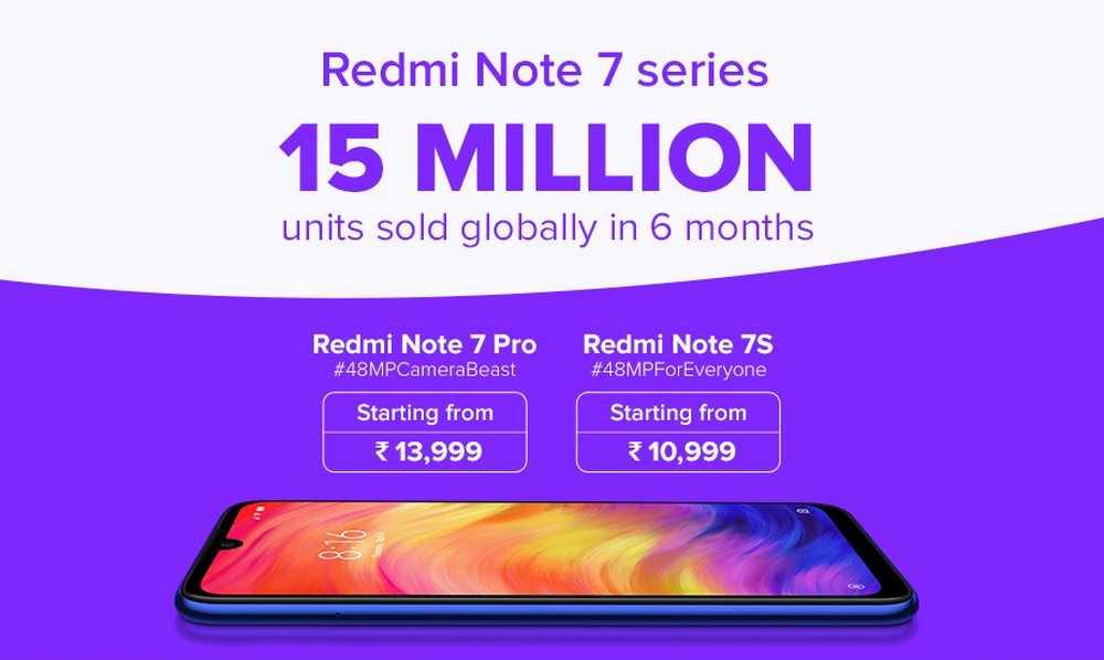 15 Juta Xiaomi Redmi Note 7 Habis Terjual (twitter.com)