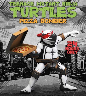 Teenage Mutant Ninja Turtles Pizza Bomber Vinyl Figure by Ndikol x Mighty Jaxx