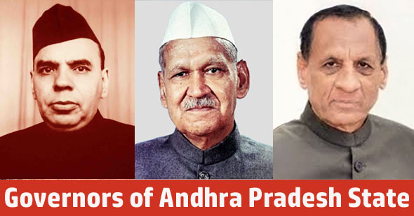 List of Governors of Andhra Pradesh State (1947 - 2020)