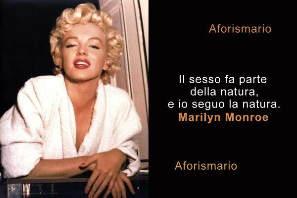 Aforismario Le Più Belle Frasi Di Marilyn Monroe