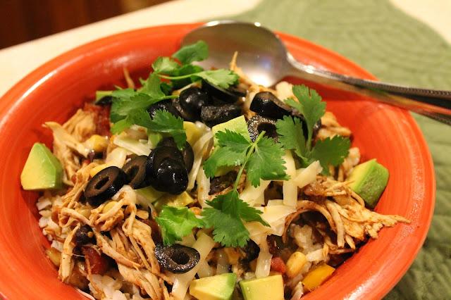 A Southwest Chicken Bowl